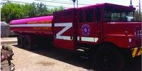 Fire department converts 6K gallon jet tanker to water tender