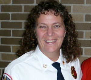 Judy Thill serves as fire chief for the Inver Grove Heights Fire Department. (Photos/Judy Thill)