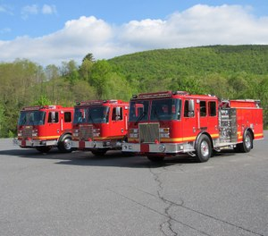 KME Fire Apparatus announces the delivery of (12) twelve KME custom pumpers and (2) two KME tractor-drawn aerials (TDA) to Los Angeles County Fire Department (LACoFD).
