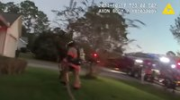 Watch: Fla. deputy saves frightened toddler from house fire
