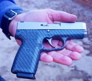 This easily concealable, self-loading, inexpensive 9mm has outstanding ergonomics. (Photo/Lindsey Bertomen)