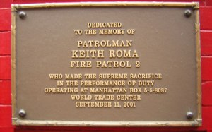 Keith Roma personally saved the lives of over 200 people, making no less than four trips up Tower 1 in the process.