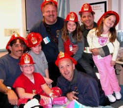January 2013, Oakland Firefighters and Citizen volunteers began a project to help children and their families that may be the first in the world.