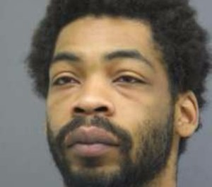 Police said Jamel Kingsbury, pictured, is wanted for the murder of security guard Larry Donnell Drumgole.