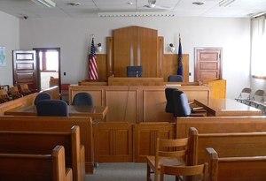 Inside a courtroom (Photo/Wikimedia)