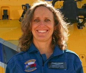 STAR Flight RN Kristin McLain. (Image Travis County STAR Flight)