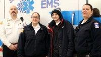 Kan. medics welcome terminally-ill teen to their ranks