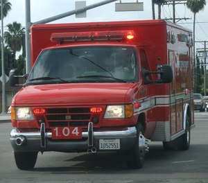 While response time performance is starting to be eclipsed by clinical quality performance requirements, many EMS systems still have and will continue to have some level of response time requirement.  (Photo/Wikimedia Commons)