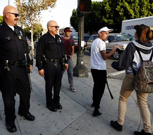 Officers need to be trained to prevail on the street, while demonstrating they are model citizens. (Gary Coronado/Los Angeles Times/TNS)