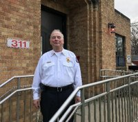Incoming Pa. fire chief says lung cancer won't slow him down