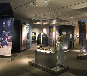 The Post 9/11 exhibit will be at the museum through July 31, 2022.