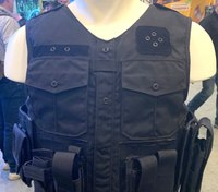 Load-bearing vests on display at SHOT Show 2020