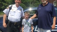 Maryland PD makes 10-year-old boy honorary cop for his birthday