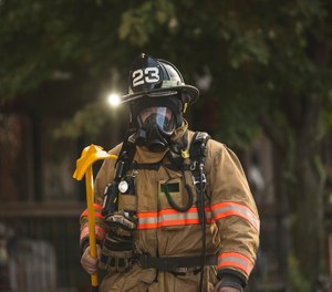 Cut to provide improved coverage at the neck and shoulders, modern fire hoods also have greater under-helmet comfort even during firefighting operations. (Photo/Seth Lasko)
