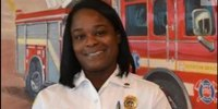 Fla. city's first black female firefighter now first female batt. chief