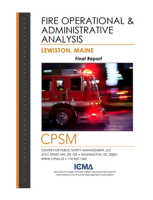The 134-page report lists 37 recommendations that could bring sweeping changes to the department if implemented.