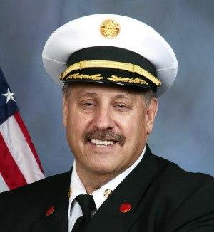 Fire Chief Gary Ludwig.