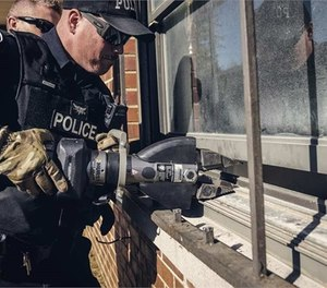 Cutting, breaching and prying capabilities help cops better prepare for unexpected barriers. (image/Hurst)