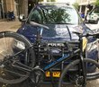 Easy on, easy off, easy-to-store: First push bumper bike rack