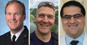 Drs. Jeff Jarvis, Jason R. Pickett and Veer D. Vithalani join MCHD medical directors to discuss 911 triage, operational challenges faced in the recent blizzard.