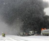 123-vehicle pileup on Mich. interstate kills 1