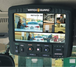 The WatchGuard 4RE in-car video system from Motorola Solutions provides multiple camera options and integration with WatchGuard V300 body-worn cameras to capture more of what happens on any given scene.