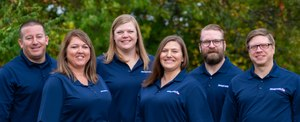 New team members: Matt Kinkade, Kerry Stanforth, Heather Lester, Meghan Keough, Sam Broze, Eric Reising.  Not pictured: Jennifer Rossman and Greg Roach.