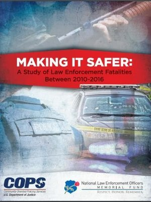 The report provides insights into the dramatic spikes in shots fired calls and police ambushes, and dangers of self-initiated officer activity compared to calls for service.