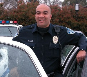 Officer Malcus Williams went into medical distress as soon as he arrived at a call, according to police.