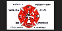 Firefighter's badge: A tradition of public trust