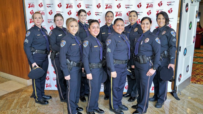 With 46 female officers at Bakersfield Police Department, Lt. Haskins is proud of the team that continues to grow as more women join the career at BPD.