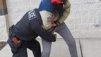 Defensive tactics training: Using Big Ben to escape from a headlock