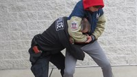 Defensive tactics training: More options for escape from a headlock