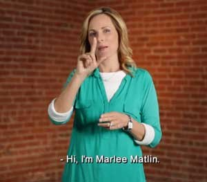 Marlee Matlin — who is deaf and the wife of a police officer — teamed up with ACLU and HEARD (Helping Educate to Advance the Rights of the Deaf) to produce an American Sign Language video to ensure deaf people know their rights when interacting with law enforcement.