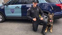Police K-9 finds injured woman who escaped from Mass. ambulance