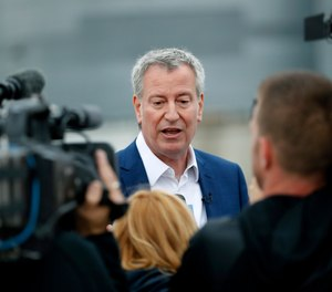 New York City Mayor Bill de Blasio announced the decision to end punitive segregation in city jails Wednesday.