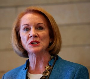 Seattle Mayor Jenny Durkan speaks during a news conference Monday, June 22, 2020, in Seattle.
