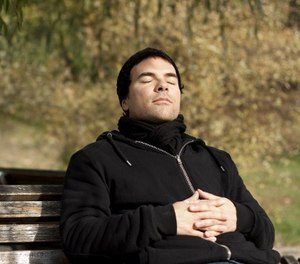 Meditation involves mentally concentrating on an object or a time in your life that brings you peace in order to achieve a state of calmness. (Photo/In Public Safety)