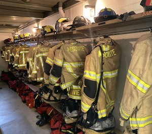 Every Mesquite firefighter assigned to an operational position now has a second set of bunker gear. (Photos/Mesquite Fire Department)