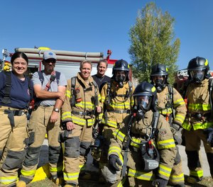 Mutual aid agreements go beyond emergency response by building relationships between communities. Here, firefighters with the Norwood, Colo., Fire Protection District participate in a joint training exercise with neighboring Ridgway and Ouray Fire Departments.