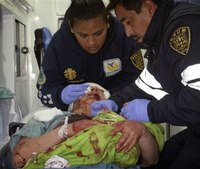 Explosion destroys Mexico City children's hospital