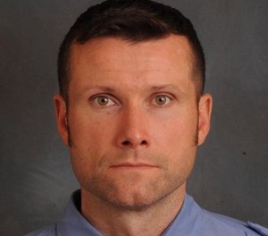 "Lt. Michael Davidson was killed on March 23, 2018, after he was overcome by toxic smoke in the basement of a building being used as a set for ""Motherless Brooklyn."" (Photo/FDNY)"
