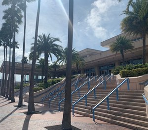Florida health officials say a 70-year-old Broward County man who attended the EMS Today conference last week has tested positive for coronavirus. The conference was held March 2-6 at the Tampa Convention Center. (Photo/Kerri Hatt)