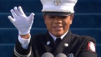 Video: Ga. fire captain leads, signs Pledge of Allegiance at Biden Inauguration