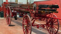 Pa. hose company restores hand-drawn ladder wagon