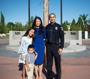 """Officer Broida says he gets a thrill when he hears his 10-year-old daughter tell her friends, """"My daddy is a police officer."""""""