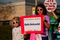 Hardened schools and US federal administrations