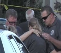 Video: Calif. cops pray after finding 2 women, 2 young children and baby murdered