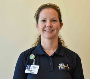 Monica Hancock will receive tuition, books, and fees for the completion of the Paramedic Certification at EHOVE Career Center.
