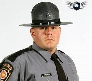 Trooper Monty Mitchell.